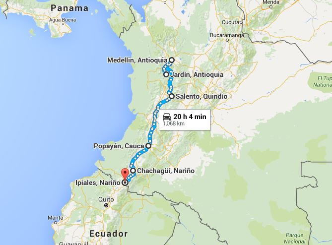 Colombia The Road to Ecuador Journeys in a Van